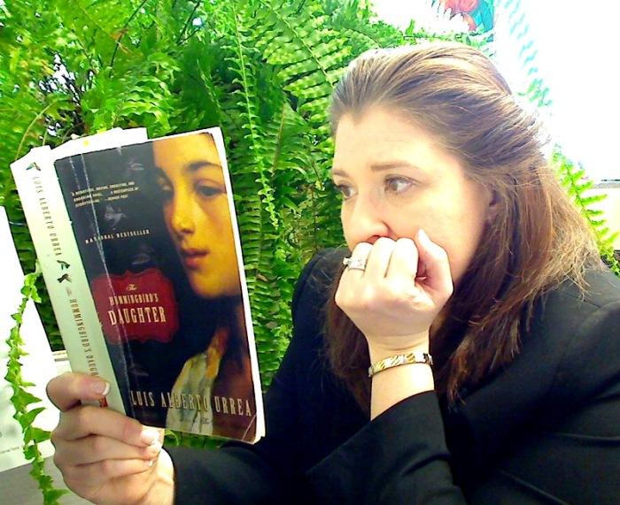 29 de enero de 2014. Mujer que lee.
